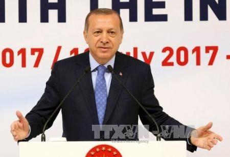Presidente turco conversa con sus pares de Palestina e Israel sobre la tensión en Jerusalén - ảnh 1