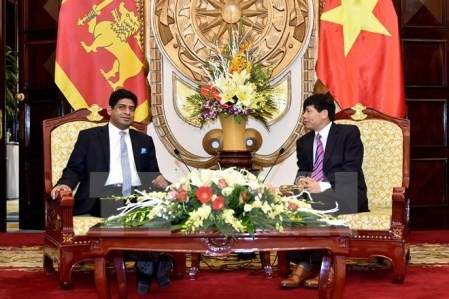 Vietnam y Sri Lanka fortalecen nexos - ảnh 1