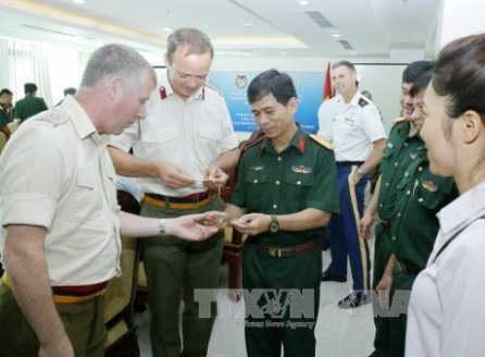 Vietnam fomenta la capacitación para su participación en el mantenimiento de la paz  - ảnh 1
