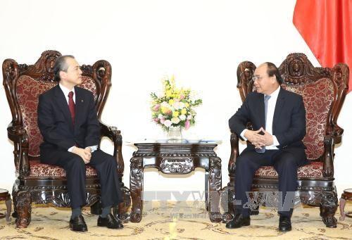 Primer ministro vietnamita recibe al director general de Tokio Gas - ảnh 1