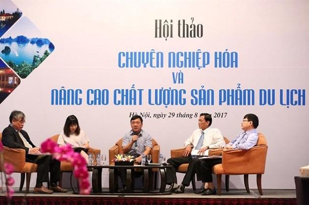 Urge elevar la profesionalidad del sector turístico de Vietnam - ảnh 1