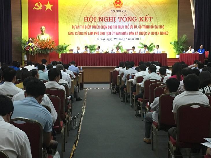 Vietnam llama al empleo de jóvenes intelectuales en las administraciones locales - ảnh 1