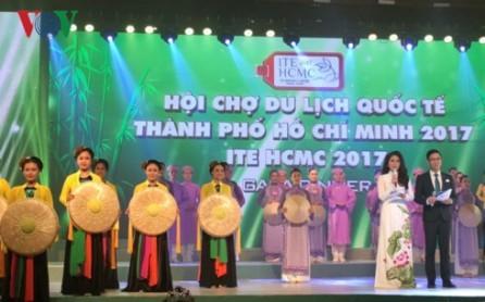 Promueven cultura vietnamita en la Feria turística de Ciudad Ho Chi Minh  - ảnh 1