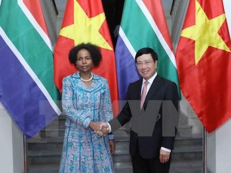 Vietnam y Sudáfrica vigorizan sus nexos - ảnh 1