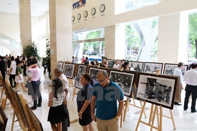 Destacan en una exposición en Hanói al Che como un actor relevante en la esfera constructiva - ảnh 1