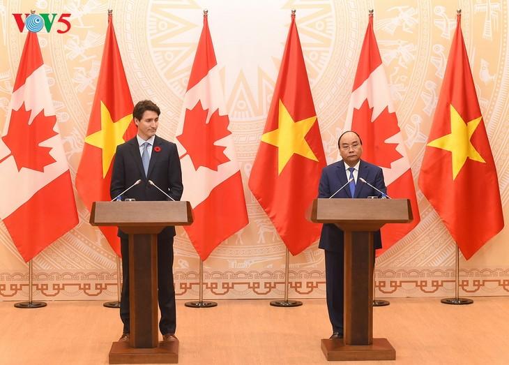 Vietnam y Canadá encaminados a una asociación integral - ảnh 1