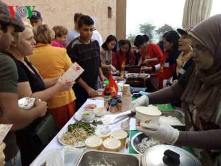 Celebran Feria cultural asiática en Egipto - ảnh 1