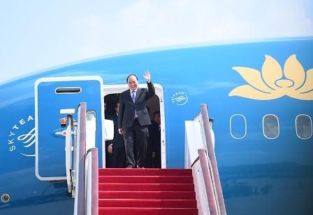 Vietnam participa en la Cumbre de ASEAN en Filipinas  - ảnh 1