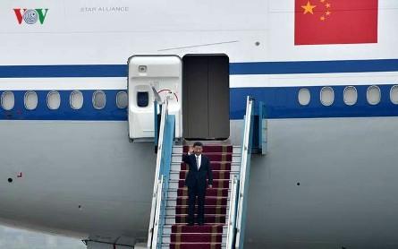 Presidente chino inicia su visita a Vietnam  - ảnh 1