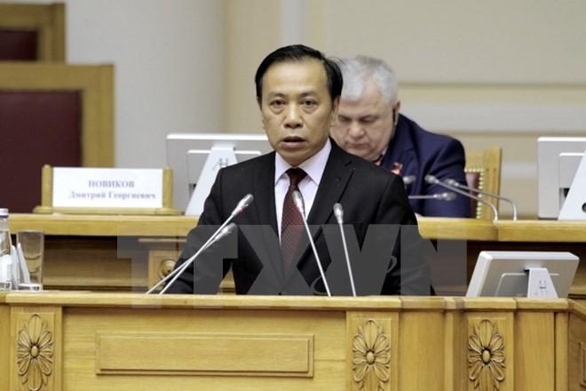 Delegados vietnamitas en el XIV Congreso del Partido Comunista de Brasil - ảnh 1