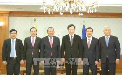 Robustecen las relaciones entre Vietnam y Corea del Sur - ảnh 1