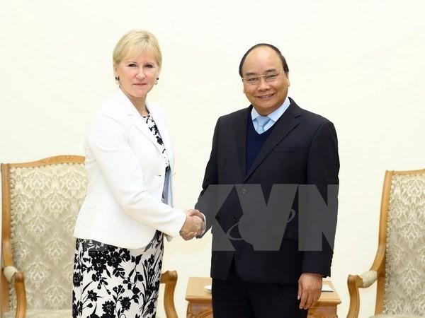Vietnam busca ampliar la cooperación con Suecia - ảnh 1