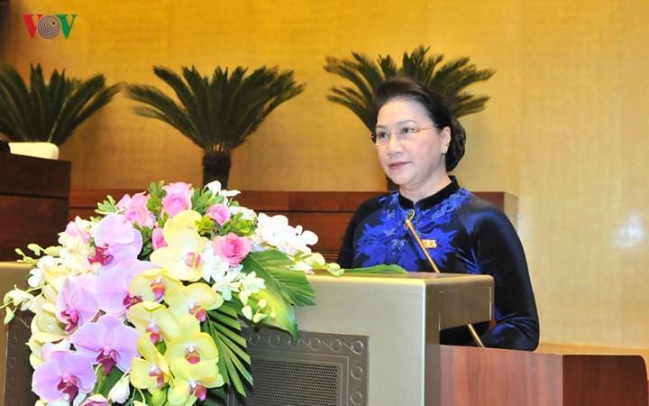 Cierre con éxito el cuarto período de sesiones del Parlamento vietnamita - ảnh 1