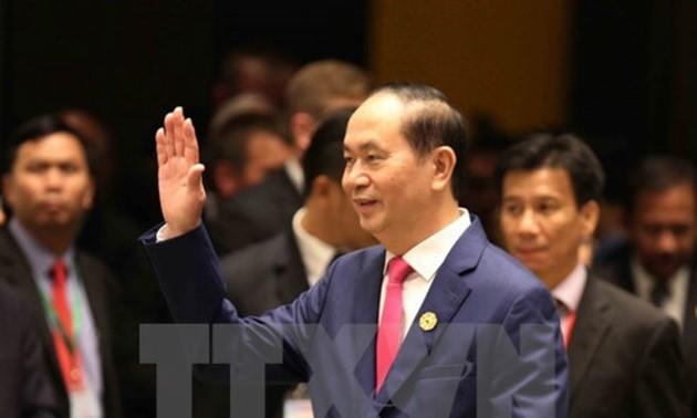 El presidente vietnamita destaca en un artículo la celebración exitosa del Año del APEC 2017 - ảnh 1
