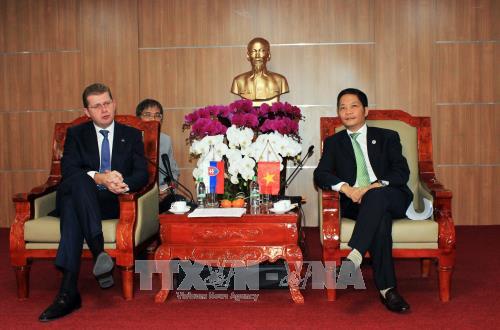 Promueven las relaciones Vietnam-Eslovaquia en economía y comercio - ảnh 1