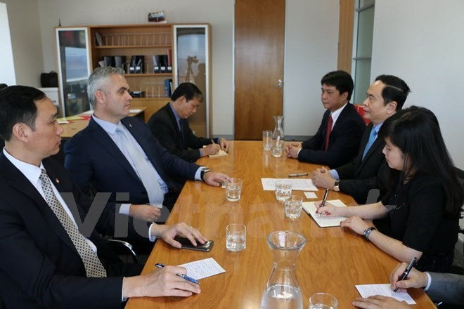 Vietnam y Nueva Zelanda fomentan cooperación en diversos campos - ảnh 1