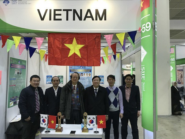 Vietnam gana premios en Feria Internacional de Inventos de Seúl 2017 - ảnh 1