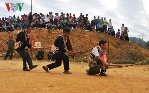 Danza con la zampoña, modo de comunicación especial de los Mong - ảnh 1