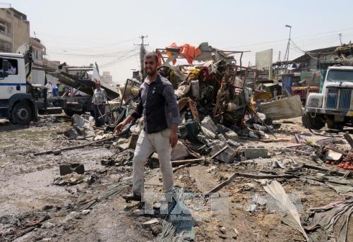 Iraq: un doble atentado en Bagdad causa grandes bajas  - ảnh 1