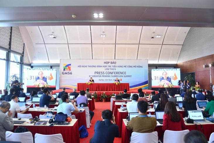 Conferencia Cumbre de la Subregión del Gran Mekong emite Declaración Conjunta - ảnh 1