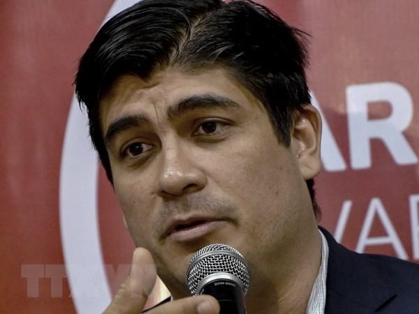 Carlos Alvarado es presidente electo de Costa Rica - ảnh 1