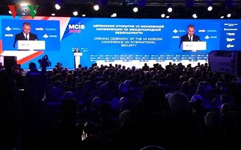 Conferencia de Seguridad de Moscú enfocada en la cooperación contra el terrorismo internacional  - ảnh 1