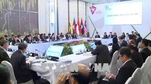 Inauguran en Singapur la Conferencia de ministros de Finanzas de la Asean - ảnh 1