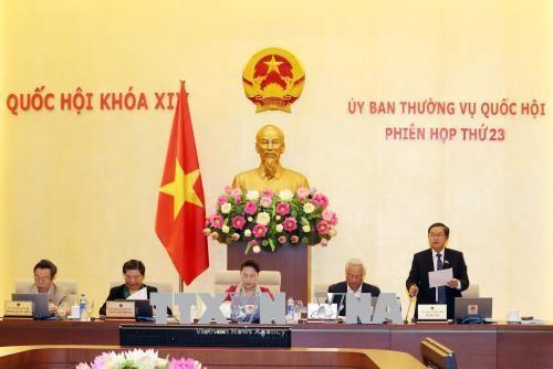 Comité Permanente del Parlamento vietnamita somete a análisis proyecto de ley contra la corrupción  - ảnh 1