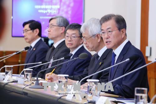 Presidente surcoreano confirma la voluntad de Pyongyang para la desnuclearización - ảnh 1