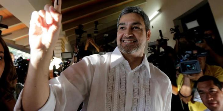 Mario Abdo Benítez elegido presidente de Paraguay  - ảnh 1
