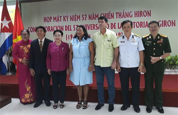 Conmemoran en Ciudad Ho Chi Minh hazaña cubana, la victoria de Girón - ảnh 1