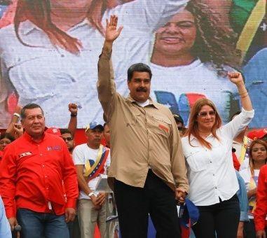 Nicolás Maduro, candidato favorito de cara a los comicios presidenciales de Venezuela, según sondeo - ảnh 1