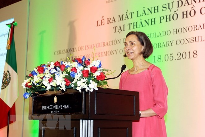 Inauguran en Ciudad Ho Chi Minh el Consulado honorario de México - ảnh 1