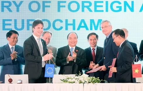 Vietnam y la Unión Europea ante enormes oportunidades para ampliar su cooperación - ảnh 1