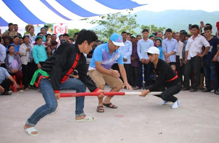 """La fiesta """"Kieng gio"""" de la etnia Dao Thanh Phan  - ảnh 3"""
