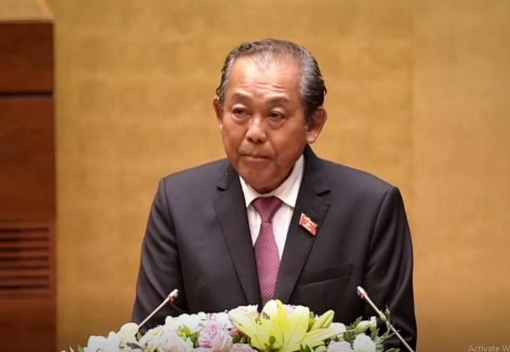Parlamento vietnamita optimista ante el crecimiento económico de 2018 - ảnh 2
