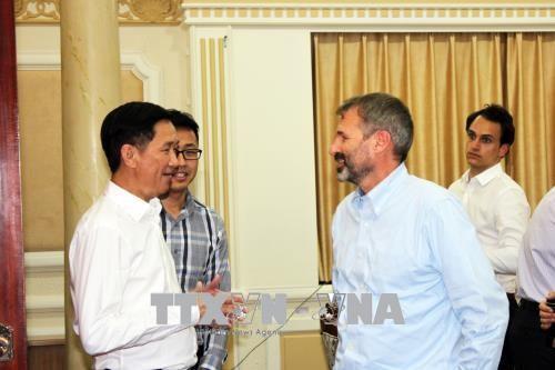 Ciudad meridional de Vietnam y la Corporación Financiera Internacional afianzan la cooperación - ảnh 1