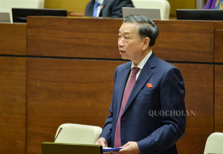 Parlamento vietnamita continúa con debates sobre la reforma de la Ley de Seguridad Pública - ảnh 1