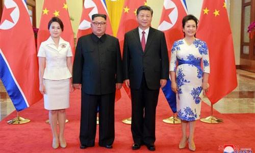 Líder norcoreano finaliza su visita a China - ảnh 1