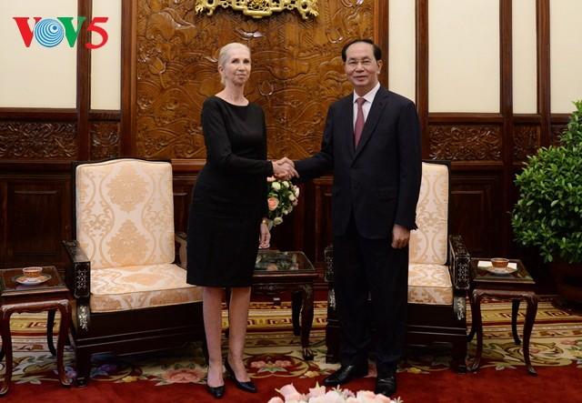 Presidente vietnamita recibe en Hanói a su homólogo de Nauru - ảnh 2