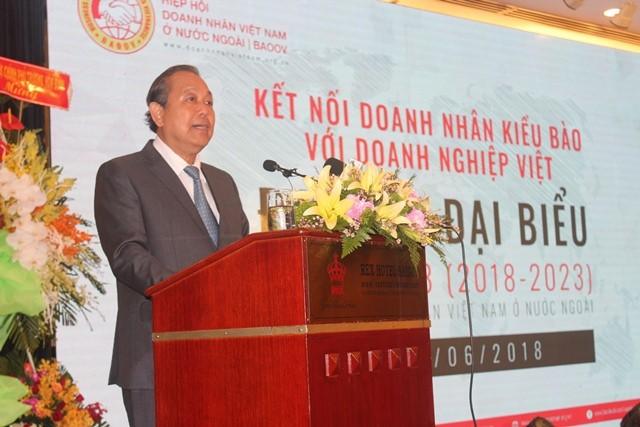 La Asociación de Empresarios Vietnamitas en ultramar celebra su tercer congreso - ảnh 1