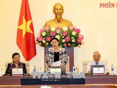 Inauguran la XXV reunión del Comité Permanente del Parlamento vietnamita - ảnh 1
