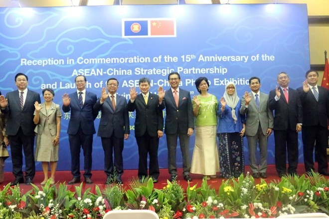 Resaltan progreso de las relaciones de asociación estratégica entre Asean y China - ảnh 1