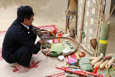 Etnia Cong en Lai Chau y su tradicional fiesta de maíz  - ảnh 2