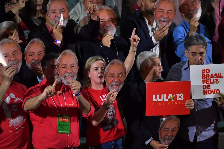 Oficializan la candidatura de Lula da Silva a la presidencia de Brasil pese a su condena - ảnh 1