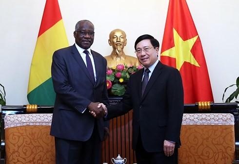 Vietnam y Guinea afianzan relaciones de cooperación - ảnh 1