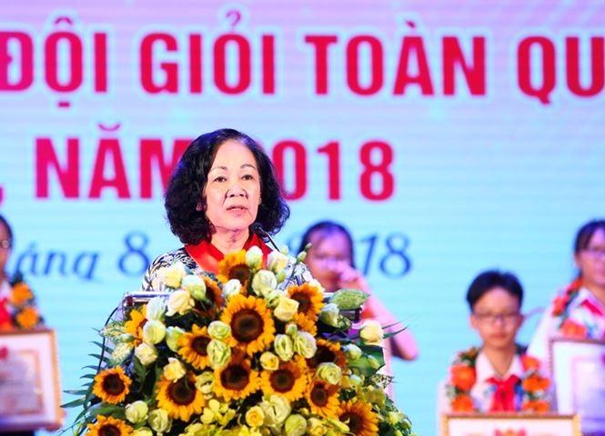 Distinguen a los más destacados de la Organización de Pioneros de Vietnam - ảnh 1