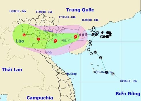 Vietnam se prepara ante la llegada de la tormenta tropical Bebinca - ảnh 1