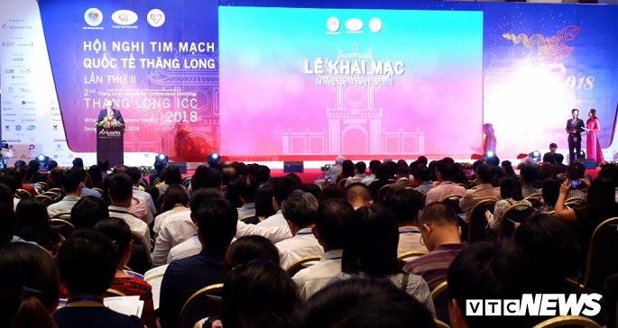 Celebran en Hanói segunda Conferencia Internacional de la Cardiología Thang Long - ảnh 1