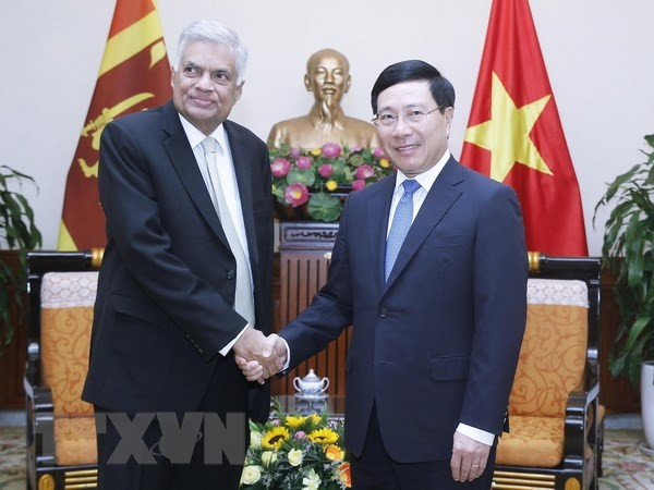 Vietnam y Sri Lanka buscan fortalecer nexos de cooperación - ảnh 1
